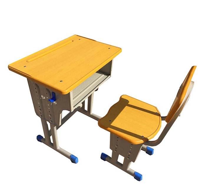 单人课桌椅型号HX-KZY-005