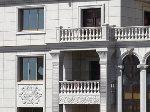 真石漆厂家对应建筑物选择不同的真石漆