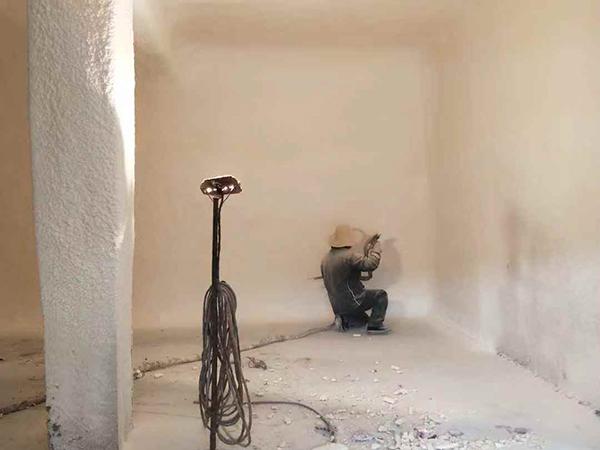 聚氨酯墙体喷涂