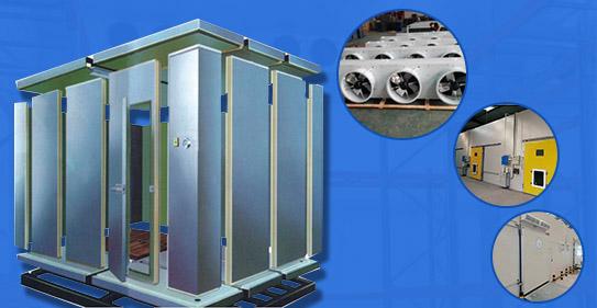中小型冷库结构图