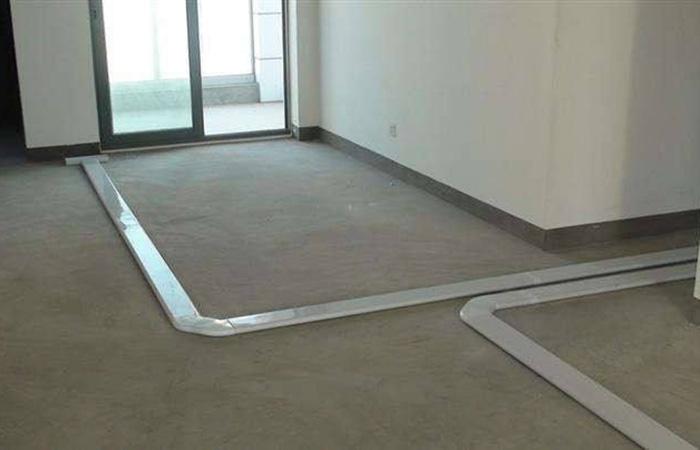 室内新风系统地面安装设计