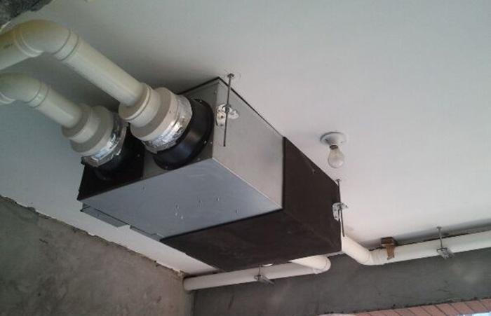室内新风换气系统安装
