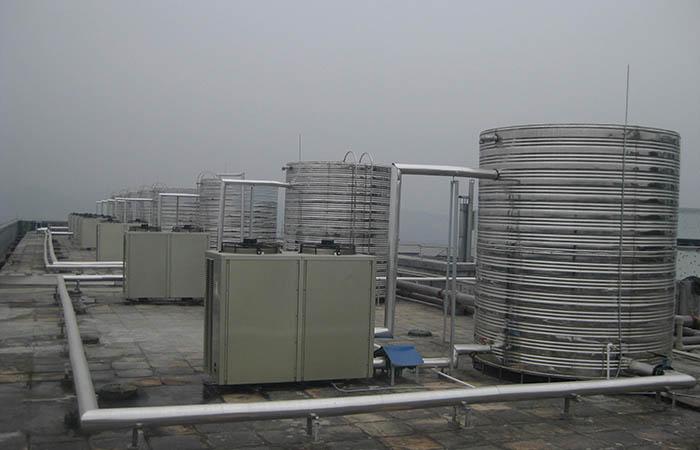 格力空气源热泵机组工程