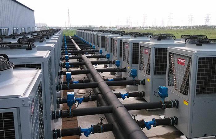 约克空气源热泵供暖系统安装