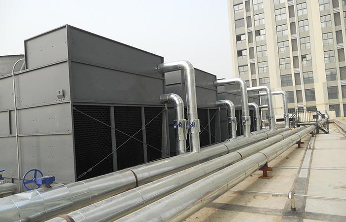 中央空调冷却塔设计安装
