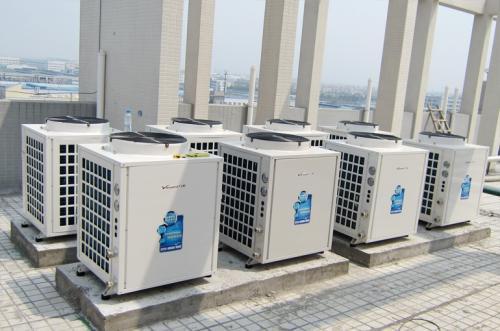 空气能热泵采暖设备