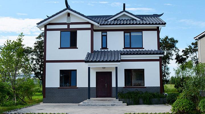 北京密云川东轻钢房子施工样板间