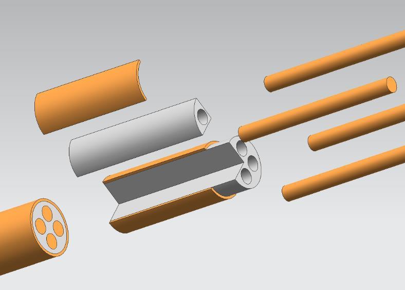BTTZ矿物绝缘电缆4×6