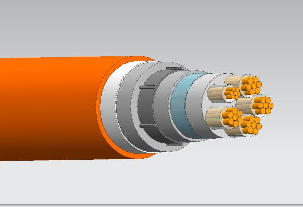 BTLY隔离型柔性矿物绝缘防火电缆4*50+1*25