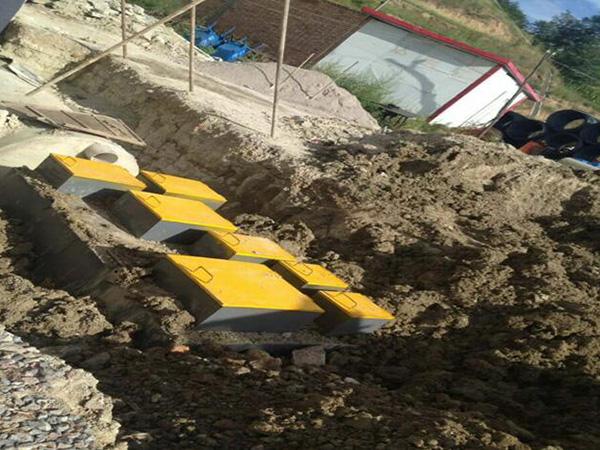 嘉義臨澤縣一體化汙水處置設備施工案例