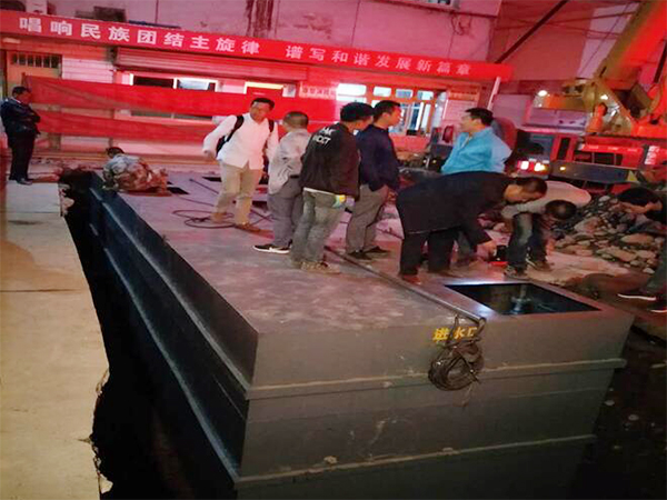 臺北名族病院一體化汙水處置設備施工案例