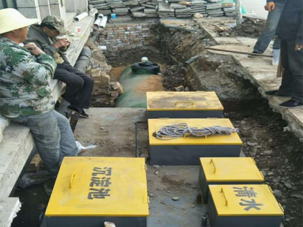 臺北中和堂病院一體化汙水處置設備