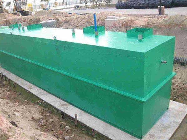 一体化污水处理设备的发展现状