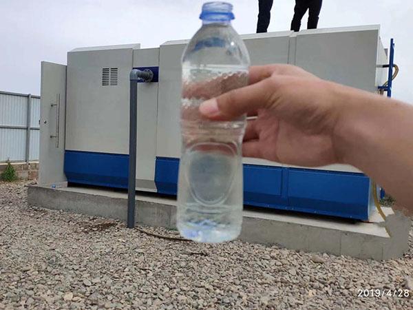 张掖甘州区水磨湾村生活污水处理项目