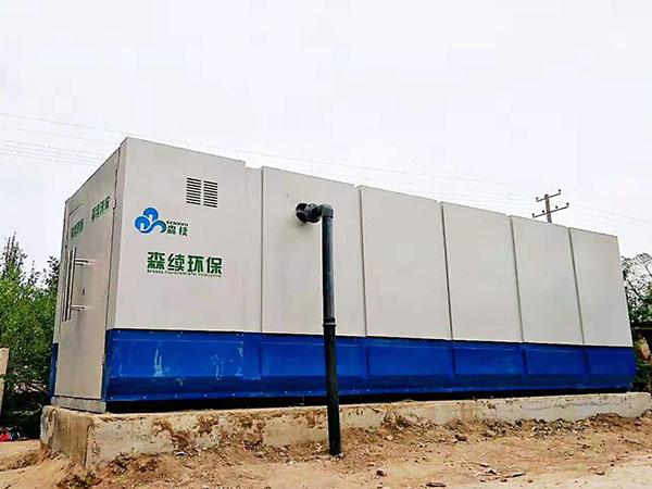 中小型病院一體化汙水處置設備