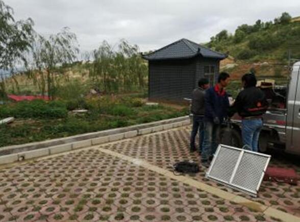 助力新农村建设森续环保积石山项目部工程推进顺利