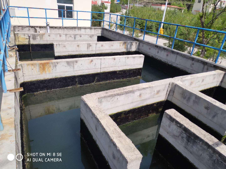 迭部污水处理厂接受当地政府领导检查指导工作