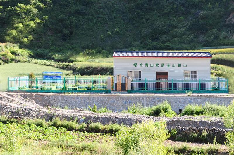武山杨河镇某村生活污水处理项目