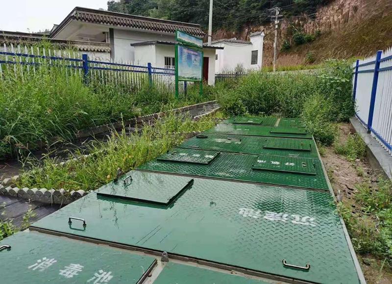 礼县城关镇某村生活污水处理项目