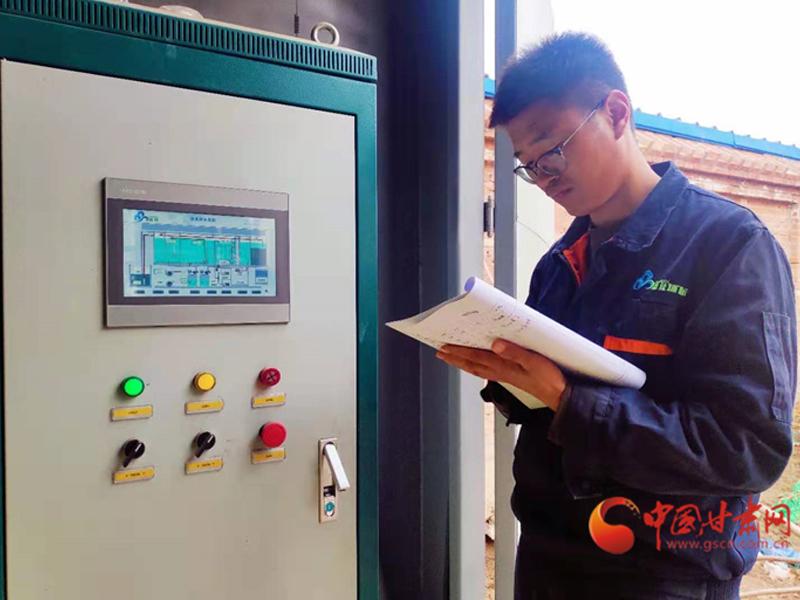 张掖甘州区乡村污水处理站日常维护