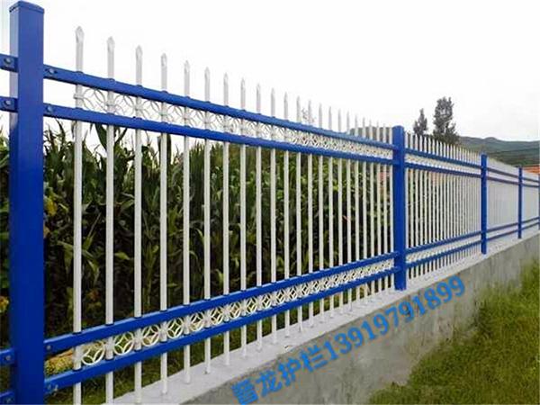 兰州锌钢草坪护栏厂家