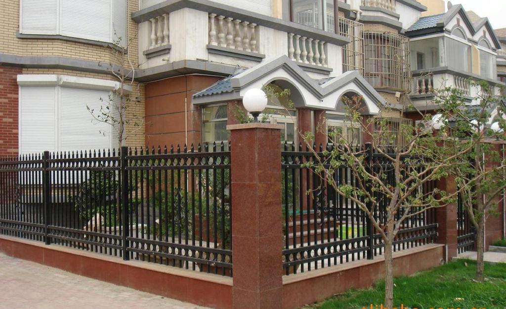 兰州锌钢围墙护栏设计