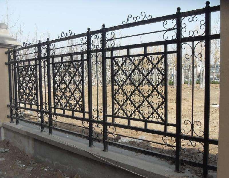 兰州厂区围墙护栏