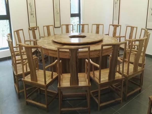 酒店中式餐桌椅