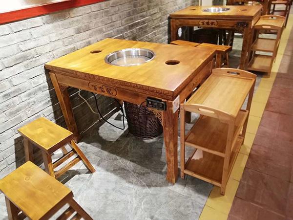 自助火锅桌椅