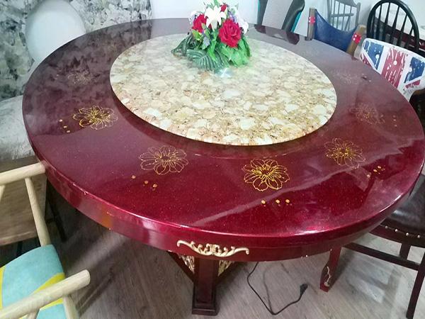 天然大理石桌子