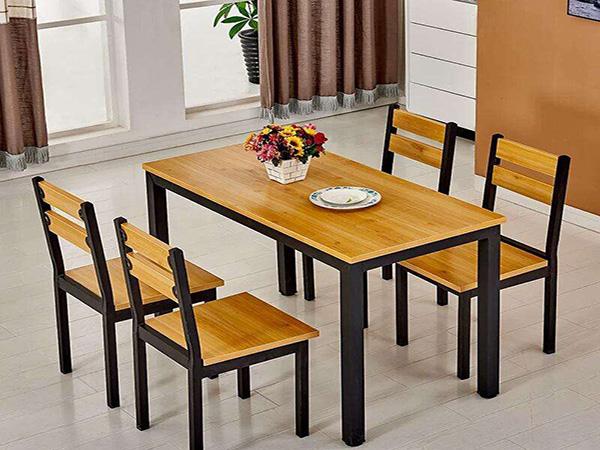 不锈钢快餐桌椅