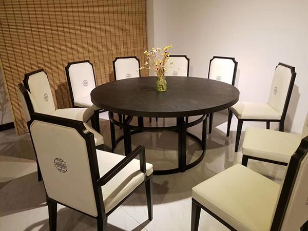 新中式茶楼餐桌椅