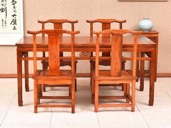 仿古茶楼餐桌椅
