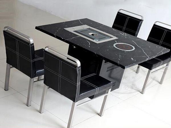 自助烤涮一体桌