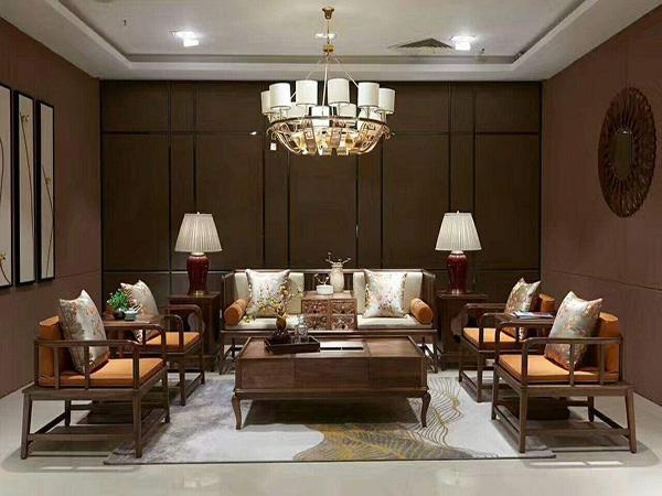 仿古中式沙发