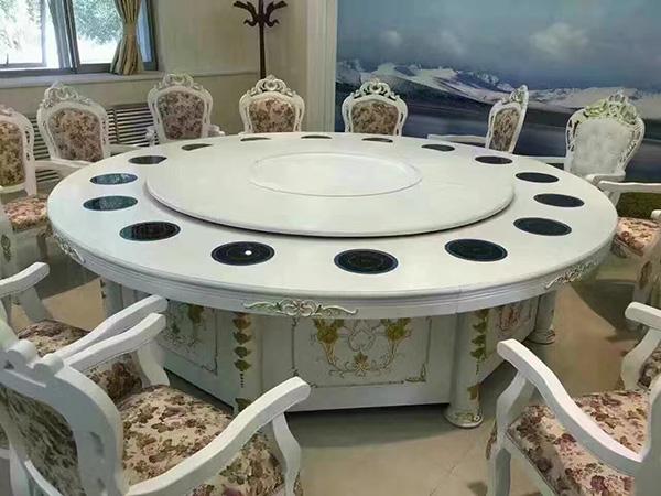 浅谈大理石火锅桌和实木火锅桌椅的保养方法