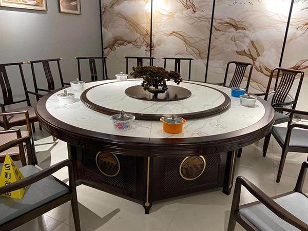 实木中式餐桌椅