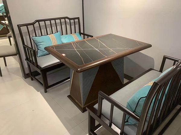 欧式茶楼餐桌椅