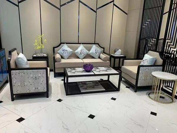 沙发批发厂浅谈沙发与茶几的尺寸搭配方法