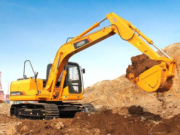 兰州360大型挖掘机租赁厂家