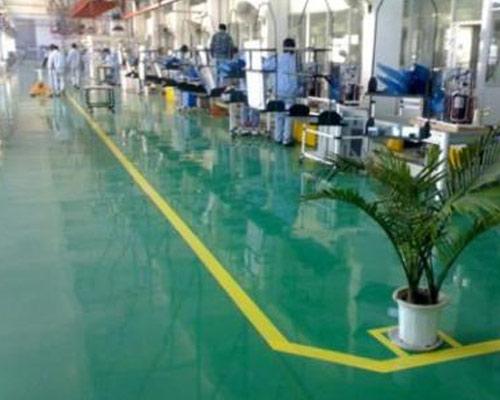 为兰州工厂提供耐磨环氧地坪施工
