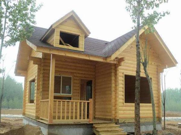 防腐木木屋施工