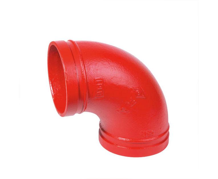 沟槽管件相比传统连接方式的优点