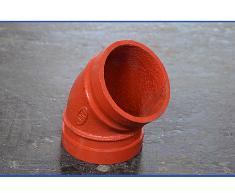 甘肃兰州沟槽管件质量好坏如何鉴别?