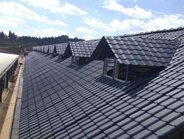仿古屋顶树脂瓦
