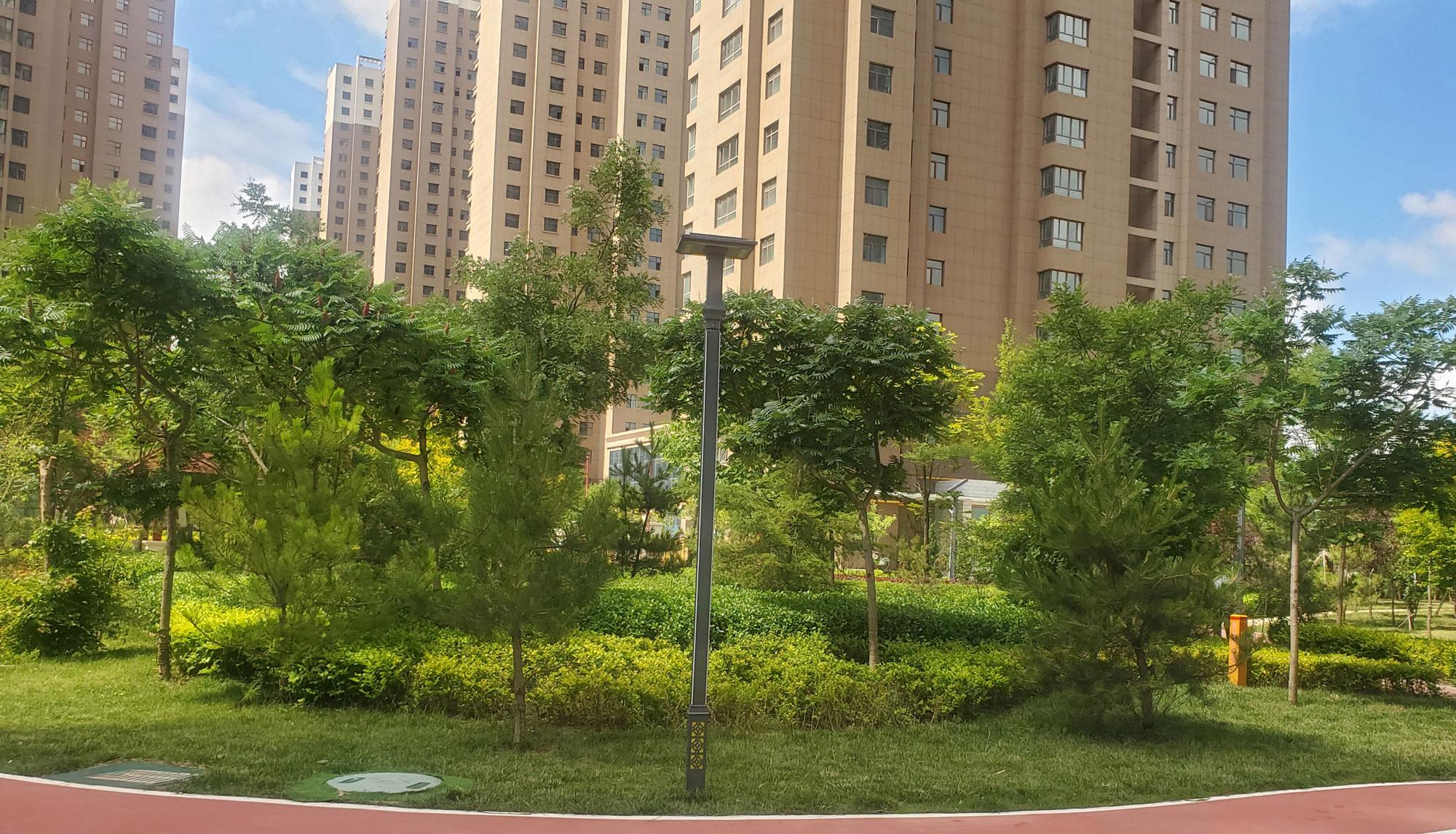 紫云名都小區景觀綠化工程
