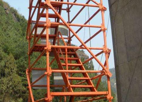 基坑安全爬梯
