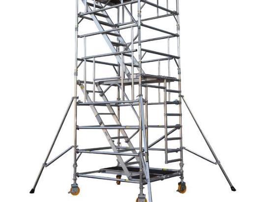 安全爬梯租赁厂家为您分享安全爬梯的使用原则
