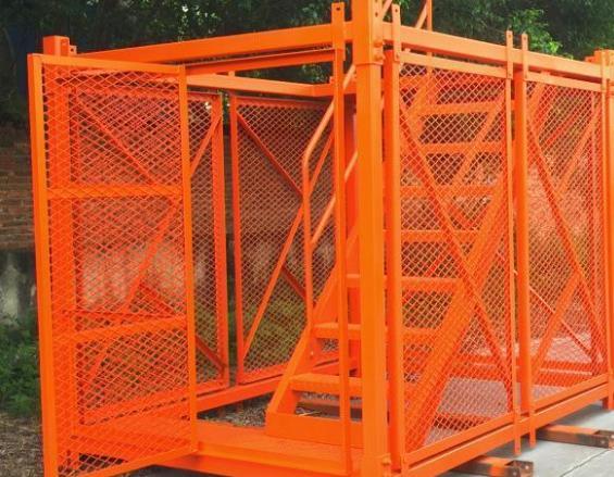 安全梯笼厂家简述安全梯笼的组成结构有哪些?