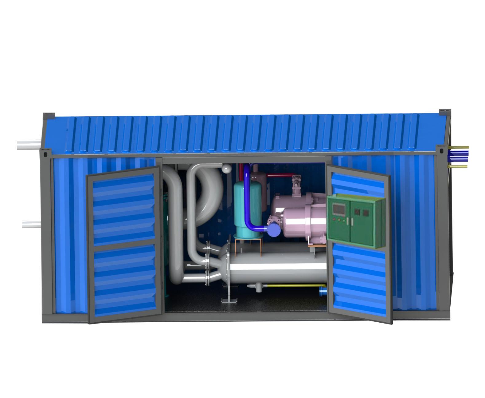 污水源熱泵機組
